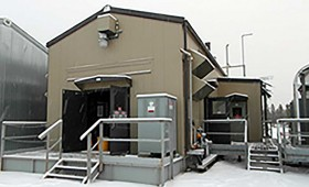 3 MW Detroit MTU Generator and E-House Package