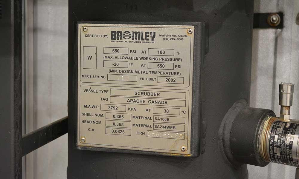 Bromley Separators Calroc Oilfield Equipment For Sale