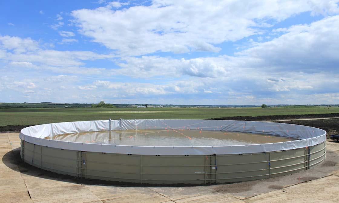 Frac Water Tank Alberta 1