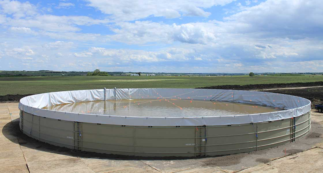 Frac Water Tank Alberta