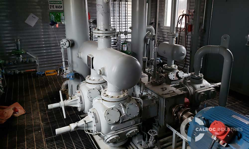 3 Stage Gas Compressor Package (Nsolv) – Calroc – Oilfield