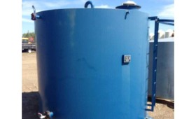 90 bbl External Painted DW tanks cw bottom skid