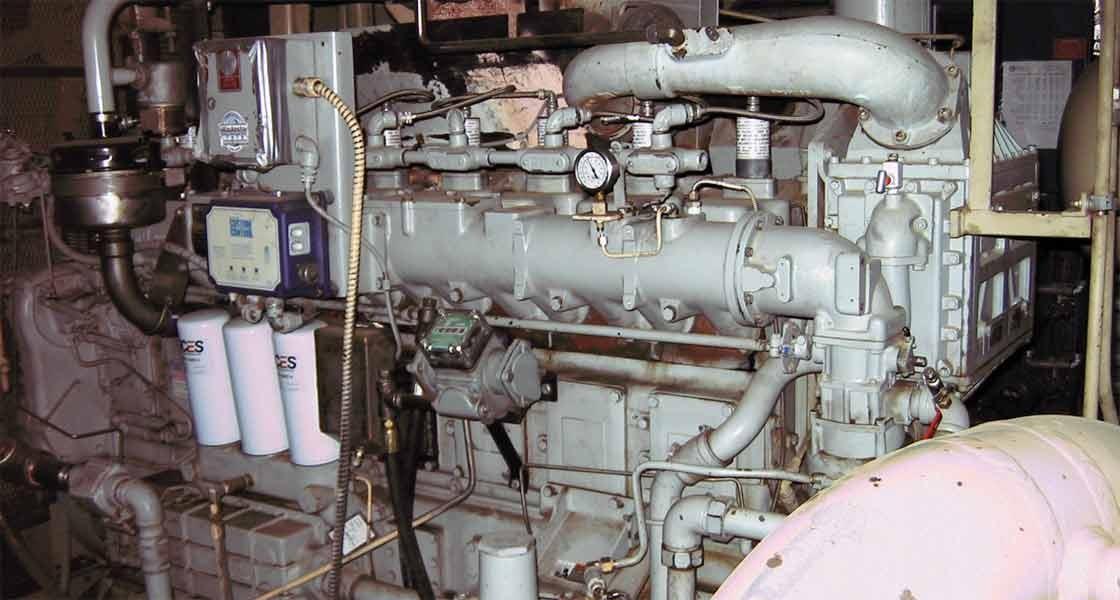 Gemini A354-3 Compressor Package