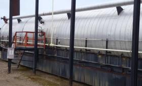 Hydrotek 10′ x 70′ Heated Treater Unit
