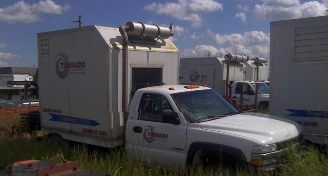 Mobile Natural Gas Compressors