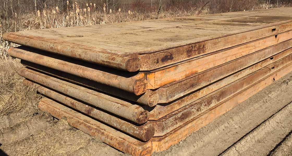 8′ x 40′ Rig Mats Manufactured by Valley Mats