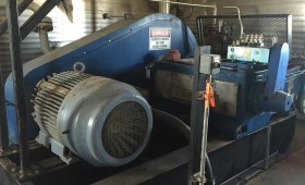 National J275 Pump Package with Westinghouse Motor