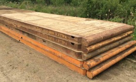 8′ x 20′ Rig Mats Manufactured by Valley Mats