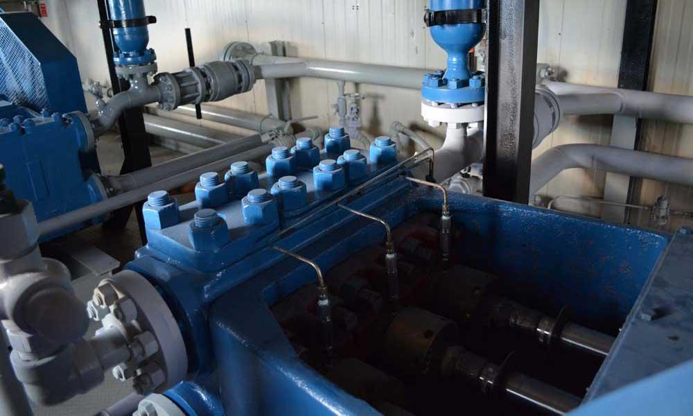 National J 150 J 165 Triplex Pump Package Calroc