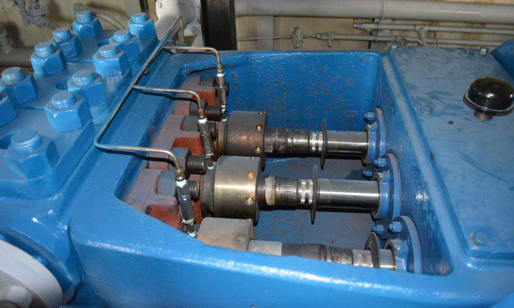 National J 150 J 165 Triplex Pump Package Calroc