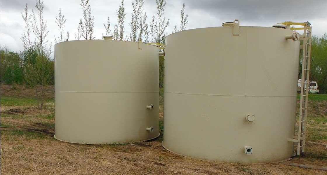 Oil Tank Alberta