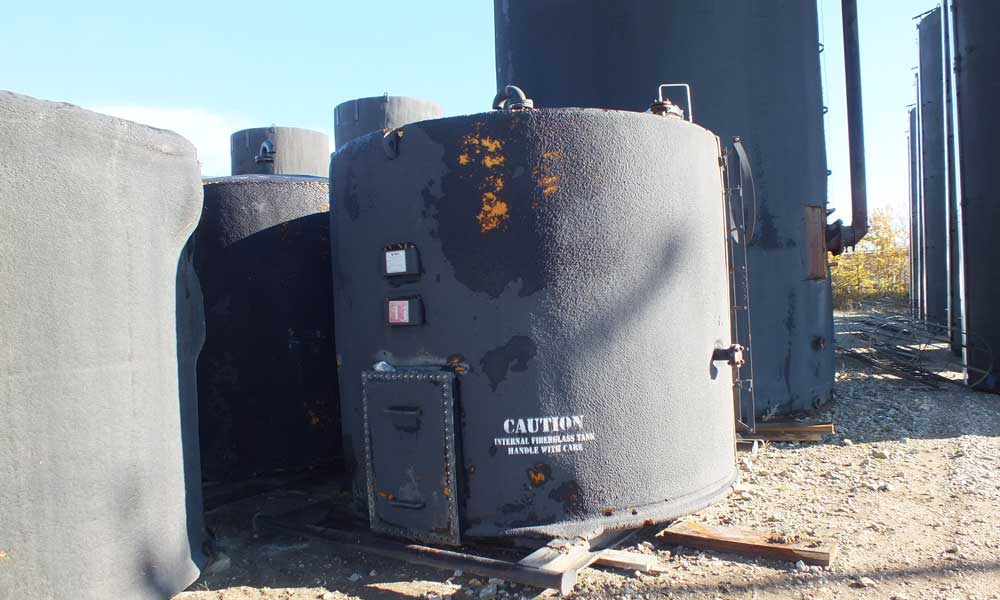 Oil Tank Kindersley