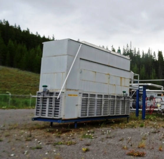 Regenerator Gas Cooler (A-100)