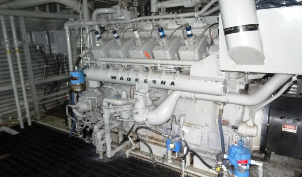 Waukesha 7042 GL Engine